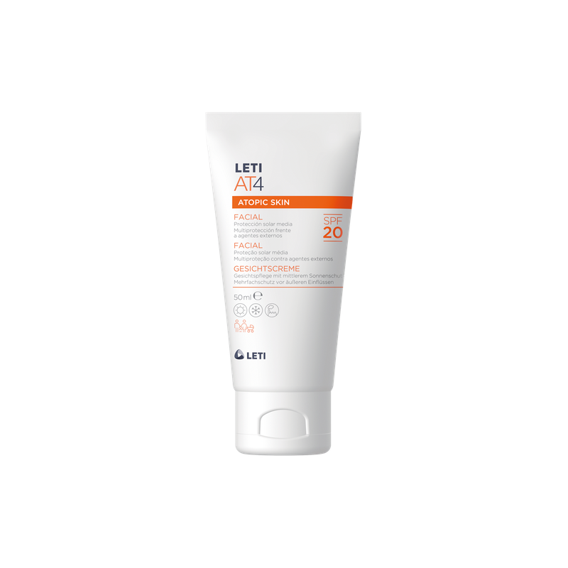 LETI AT4 CREMA FACIAL SPF...