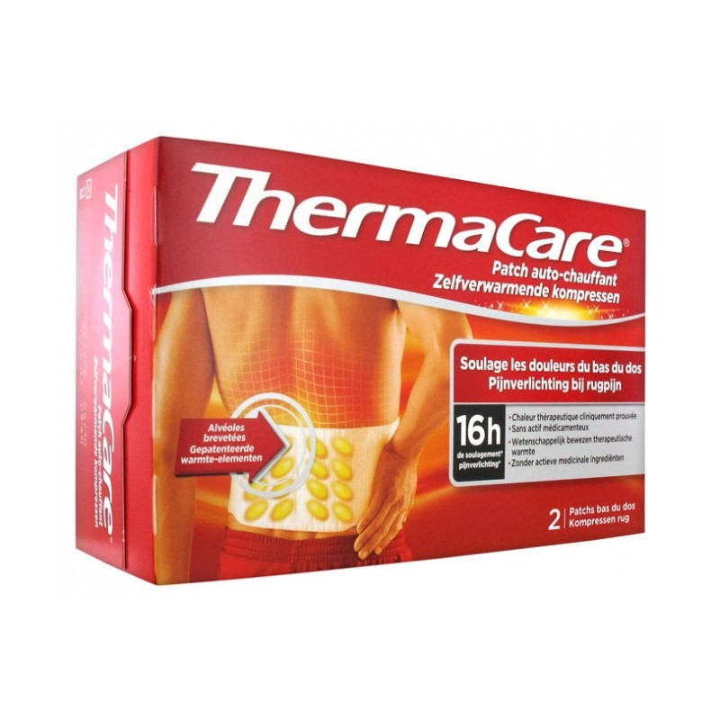 THERMACARE 2 PARCHES ZONA...