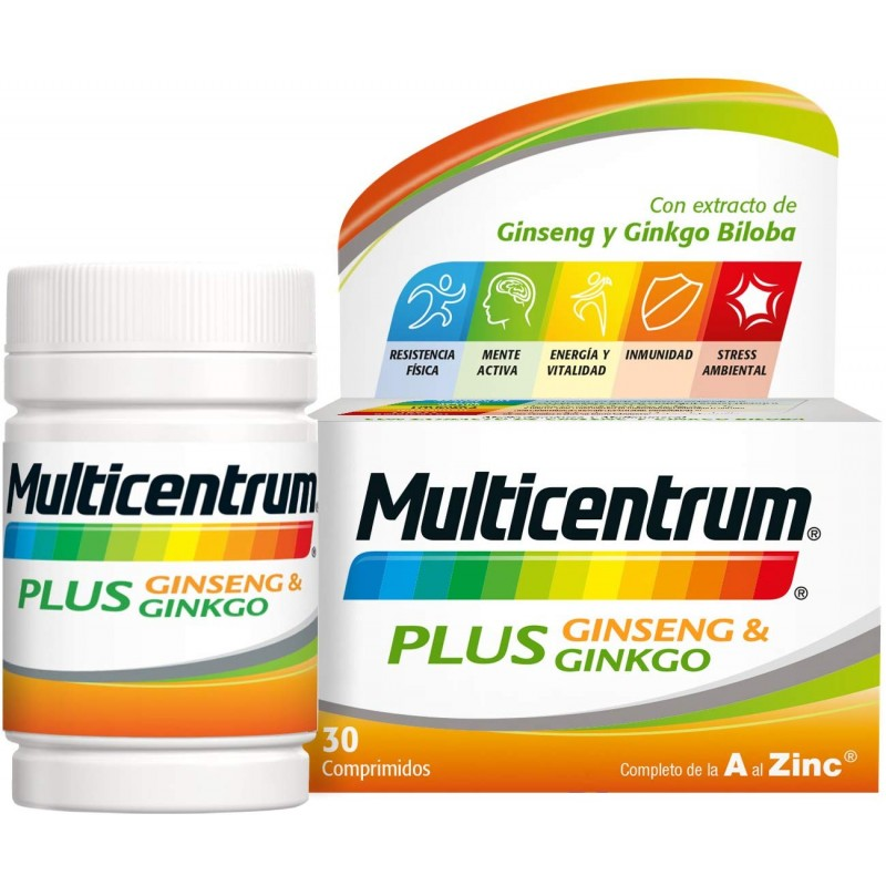 MULTICENTRUM PLUS GINSENG Y...