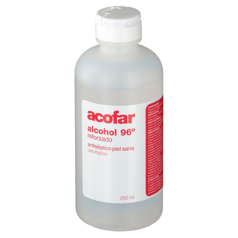ALCOHOL 96 250 ML ACOFAR
