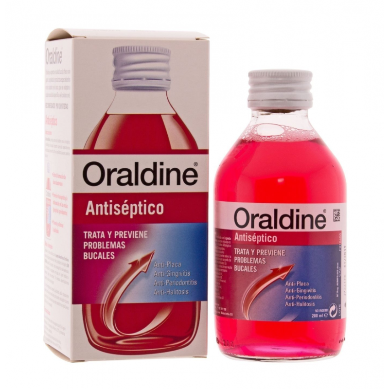 ORALDINE ANTISEPTICO 200 ML...