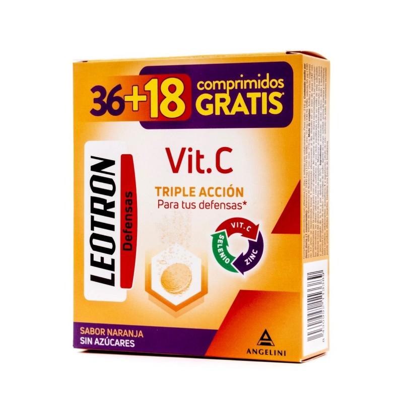 LEOTRON PACK VIT C 36+18 COMP