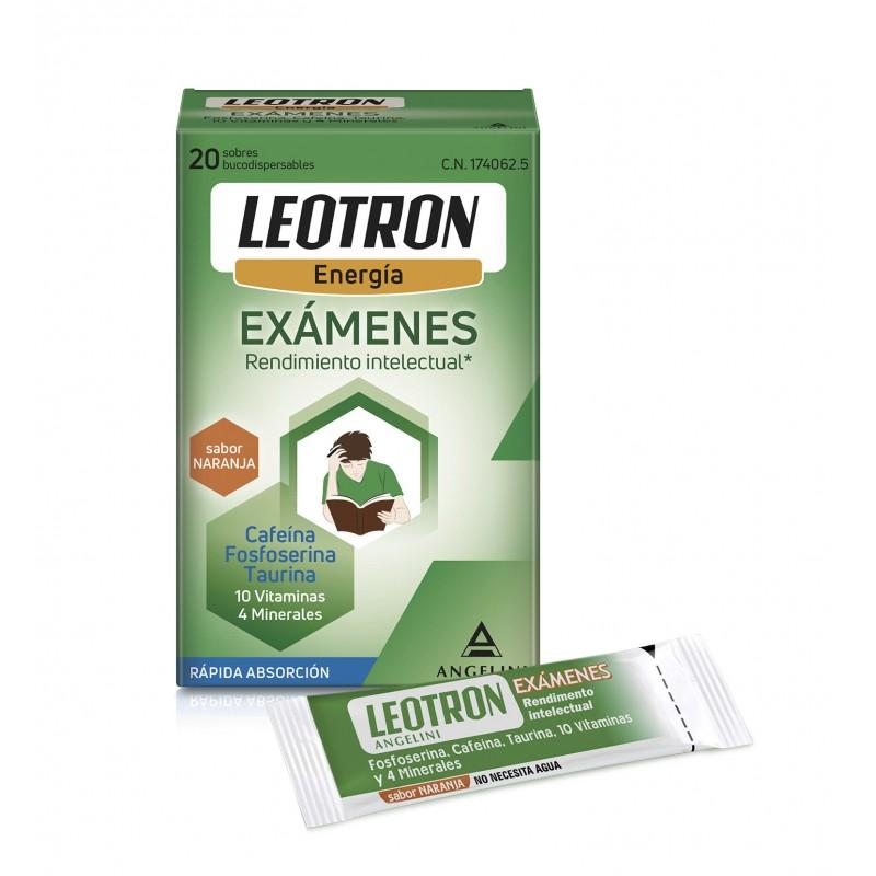 LEOTRON EXAMENES SOBRES BUCODISPERSABLES