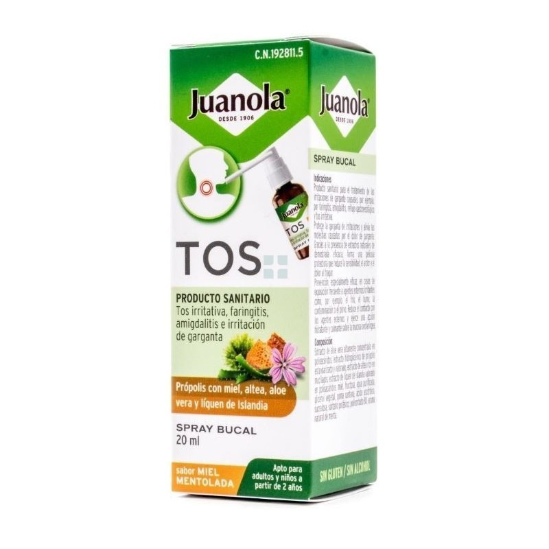 JUANOLA TOS SPRAY BUCAL 1...