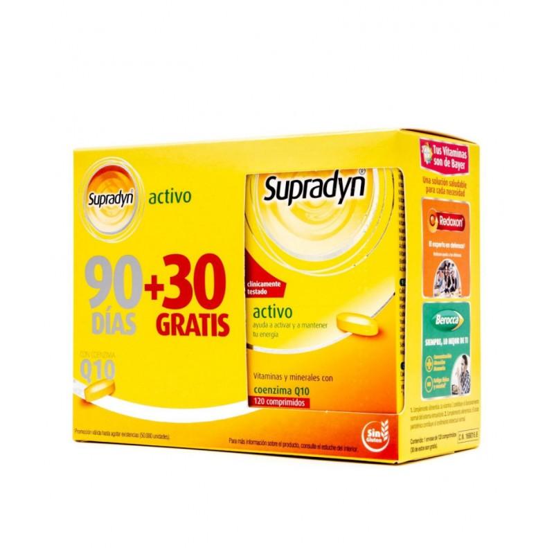 SUPRADYN ACTIVO 90 + 30 COMP farmacia campelo
