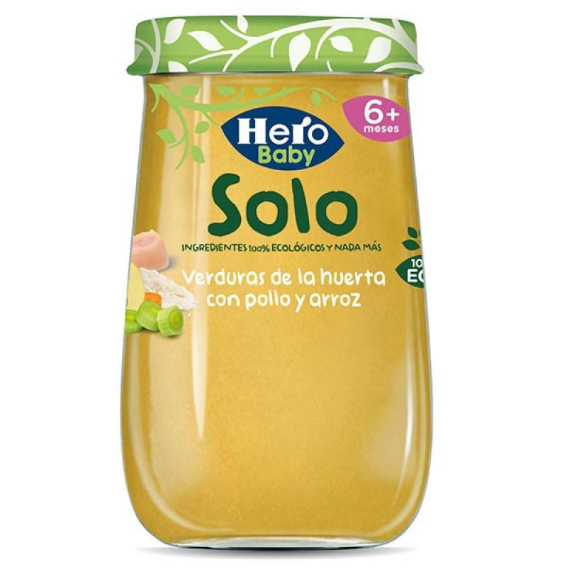 HERO BABY SOLO VERDURAS CON...