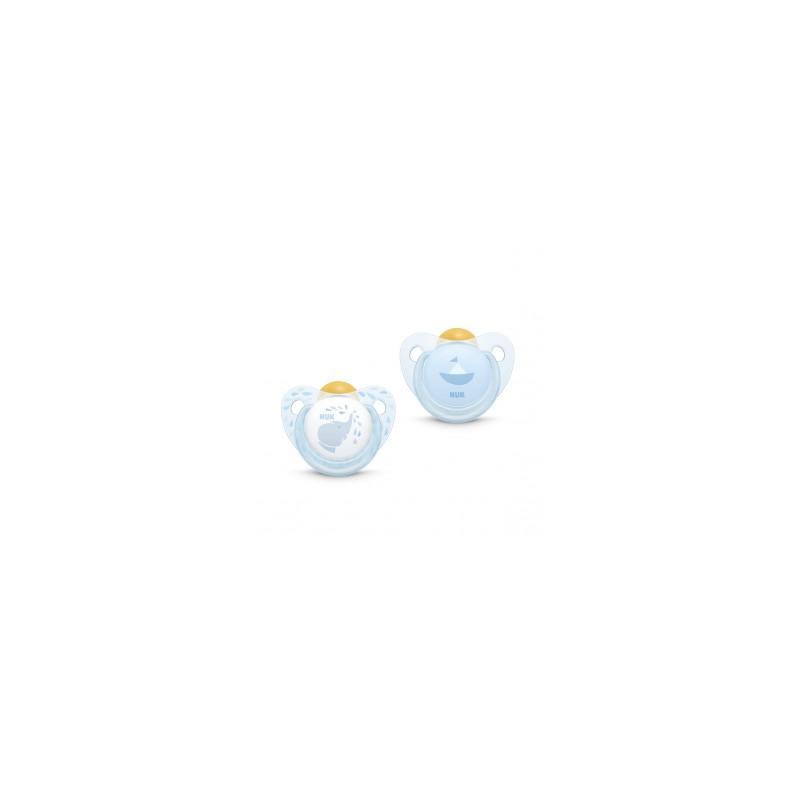 NUK CHUPA LATEX ROSE & BLUE...